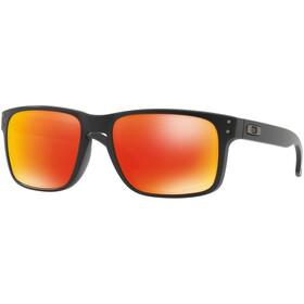 Oakley Holbrook Gafas de sol, matte black/prizm ruby